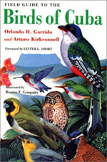 Birds of Cuba book