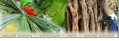 Natural History, Adventure, Farm and Special Interest Tours in Australia